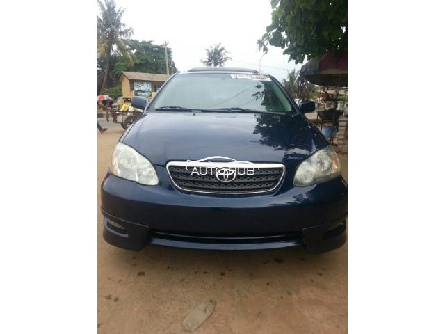 Foreign used 2006 corolla S