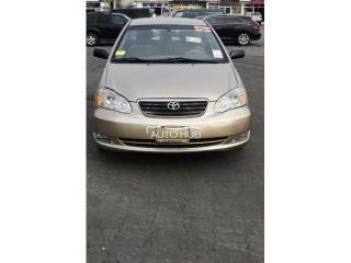 Foreign used 2007 corolla