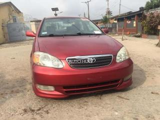 Foreign used 2004 corolla S