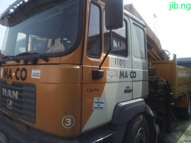 MAN Truck with 8Tons Hbap