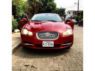2010 Jaguar XF Red
