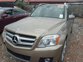 2011 Mercedes GLK Gold