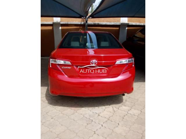 2014 Toyota Camry Red