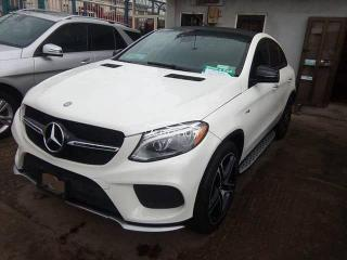 2017 Mercedes Benz GLE43 White