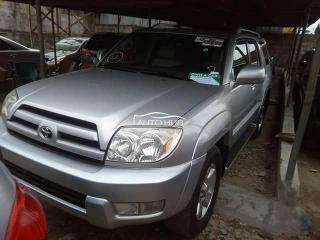 2003 Toyota 4 Runner Silver