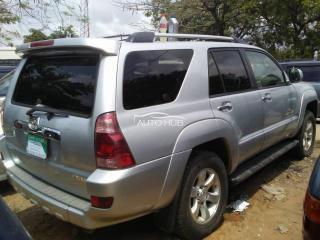 2005 Toyota 4Runner Silver