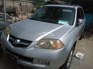 2004 Acura MDX Silver