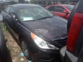 2010 Hyundai Sonata Black