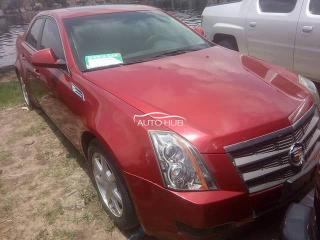 2008 Cadillac CTS Red