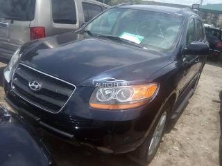2010 Hyundai Santa FE Black