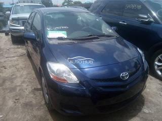 2007 Toyota Yaris Black