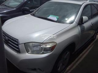 2008 Toyota Highlander White