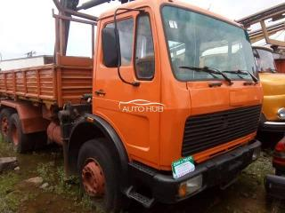 Mercedes Benz Tipper Orange