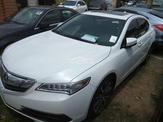 2015 Acura TLX White
