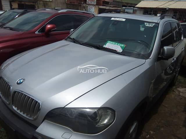 2007 BMW X5 Silver