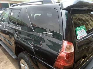 2004 Toyota 4 Runner Black