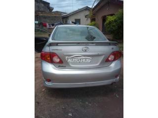 Toks 2009 Toyota Corolla Sport