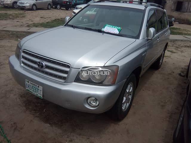 2002 Toyota Highlander Silver