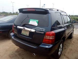 2002 Toyota Highlander Gray