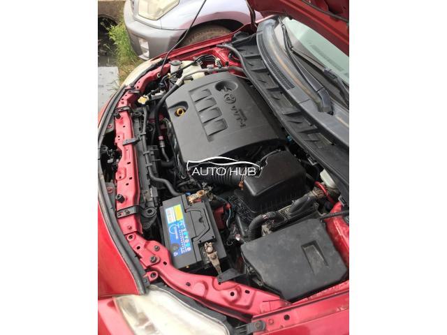 2010 Toyota Corolla Red
