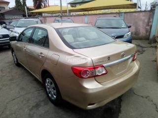2011 Toyota Corolla Gold