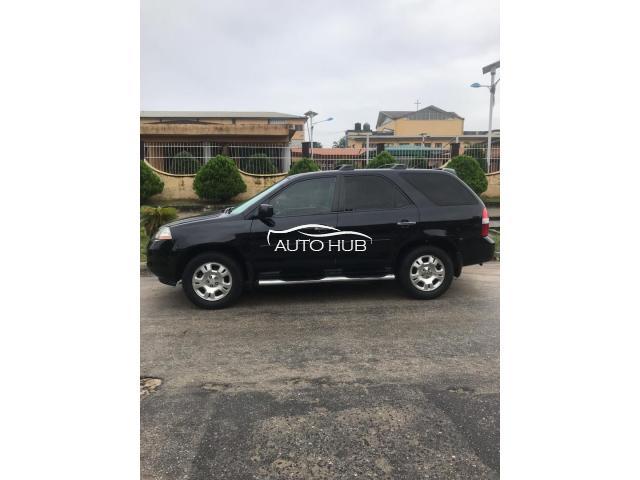 2004 Acura MDX Black