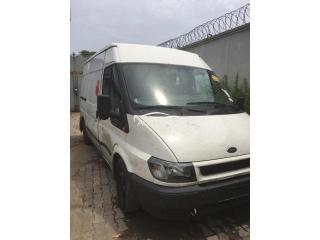 1999 Ford Transit White
