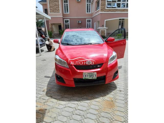 2010 Toyota Matrix  Red