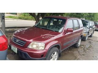 1999 Honda CR-V Red