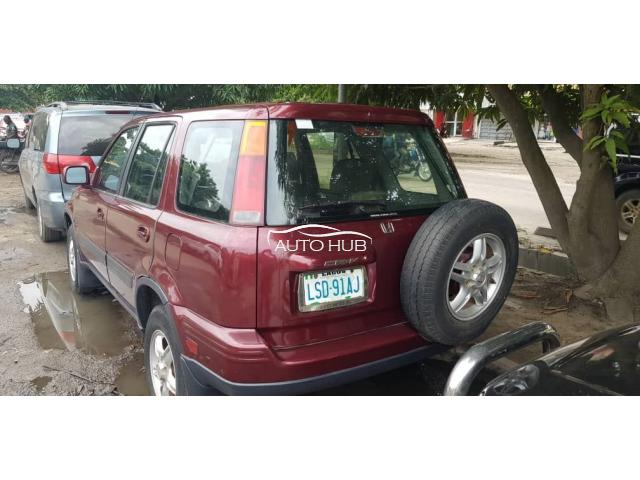 1999 Honda CR-V Red