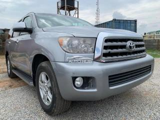 2008 Toyota Sequoia Black