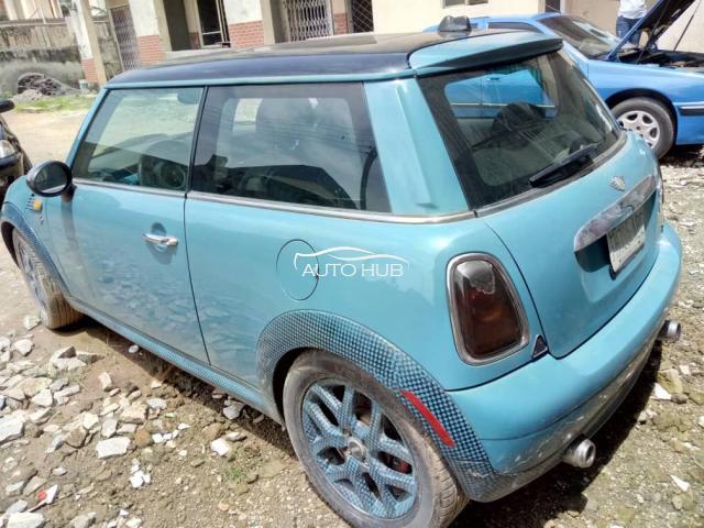 2010 Mini Cooper Blue