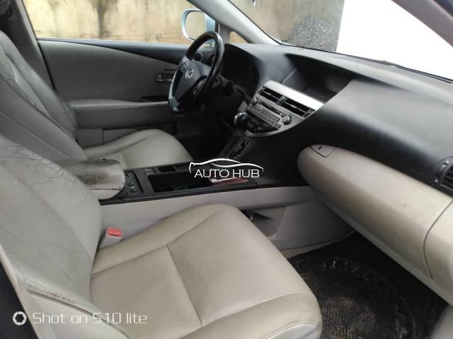 2010 Lexus RX 330 Silver