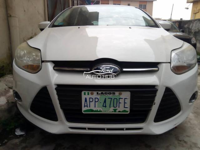 2012 Ford Focus White