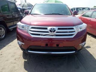 2008 Toyota Highlander  Red