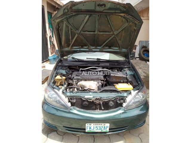 2004 Toyota Camry Green