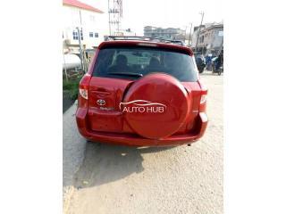 2007 Toyota Rav4 Red