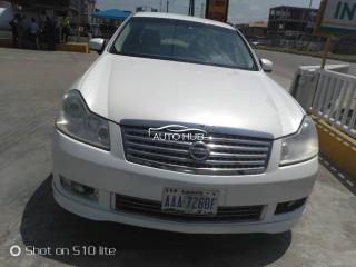 2010 Nissan Fuga White