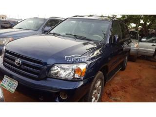 2006 Toyota Highlander Blue