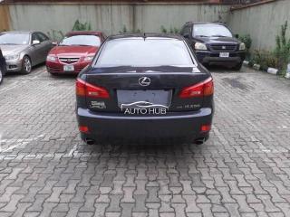 2008 Lexus IS 250 Black
