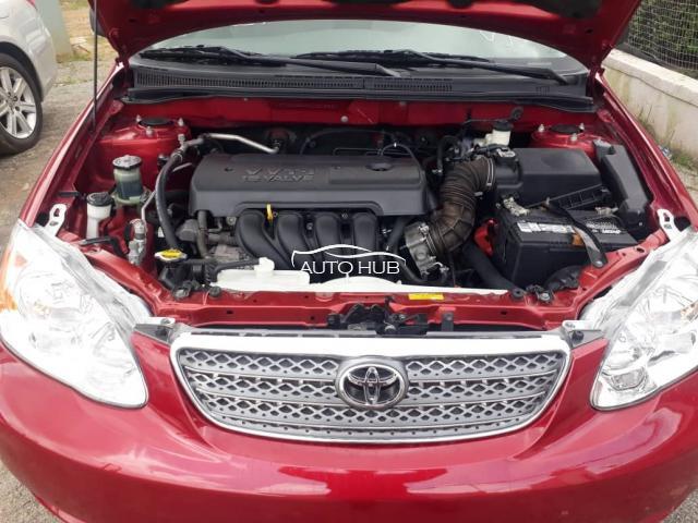 2006 Toyota Corolla Red