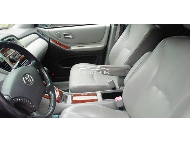 2007 Toyota Highlander Blue