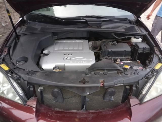 2009 Lexus RX 350 Red