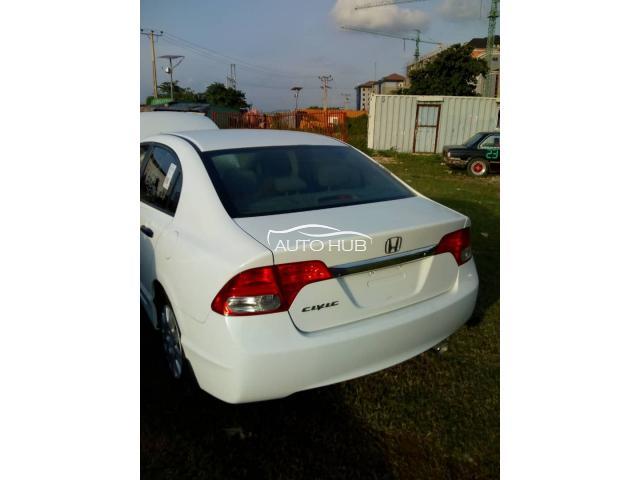 2010 Honda Civic White