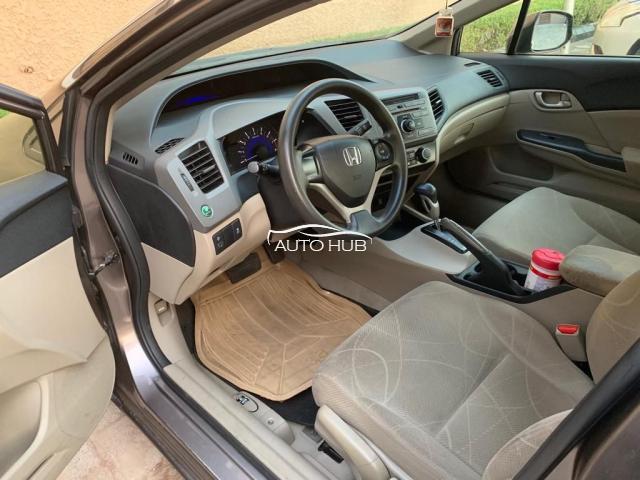 2012 Honda Civic Brown
