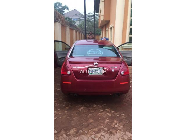 2004 Nissan Maxima Red