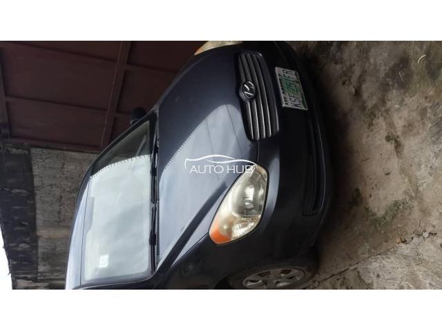2010 Hyundai Accent Black