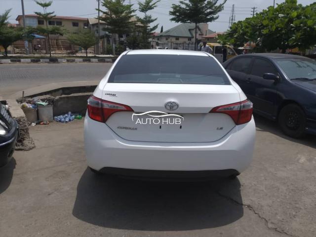 2014 Toyota Corolla  White