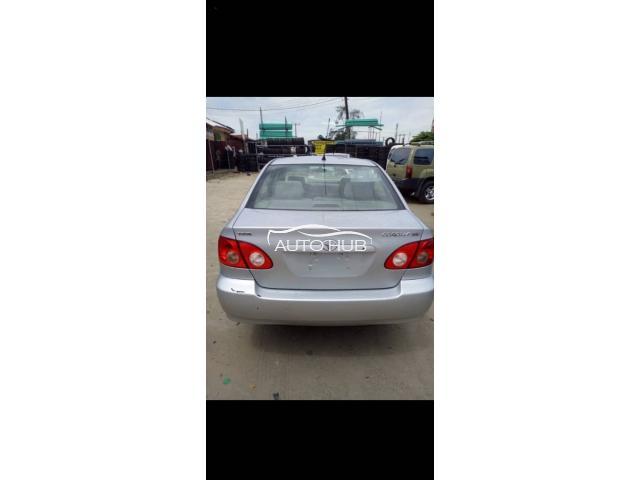 2005 Toyota Corolla Silver