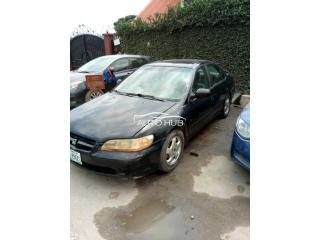 2000 Honda Accord Black